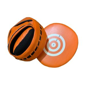 boxing pads - orange
