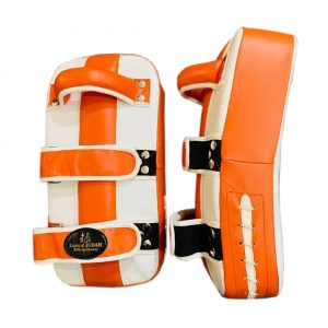 boxing and kickboxing pads - orange