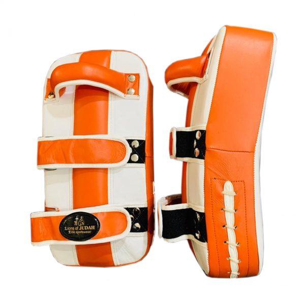 boxing and kickboxing pads - orange