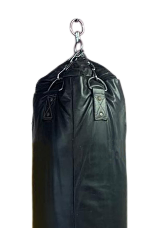 Boxing punch bag in black colour