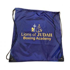 drawstring bag sports satchel