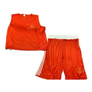 boxing shorts and boxing vest