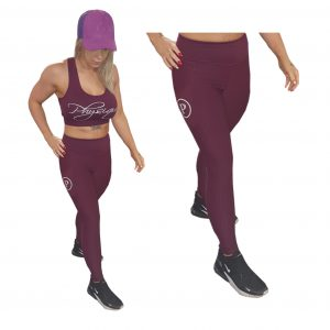 womens training top and bottoms leggings boxing sport
