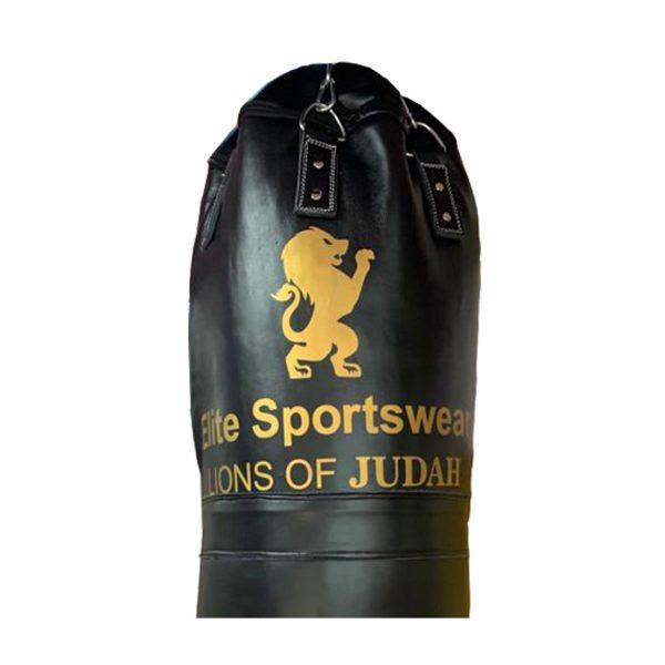 lions of judah boxing gym log on black boxing punch bag