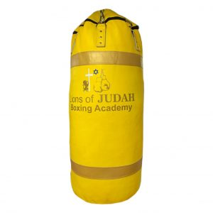 boxing punch bag yellow 100kg