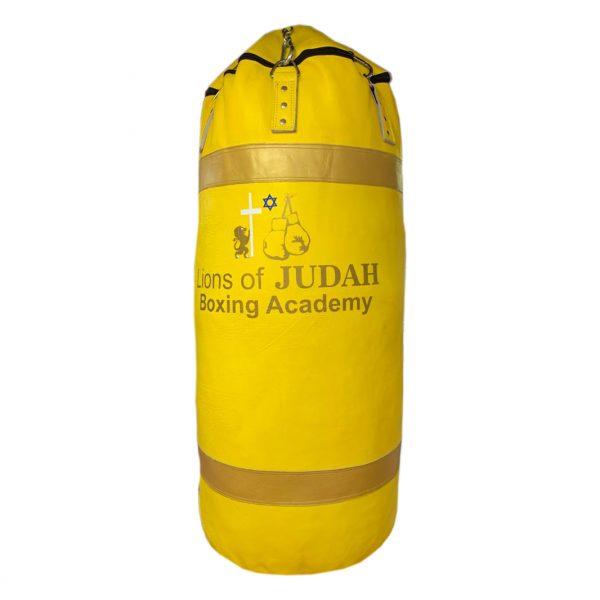 boxing punch bag yellow 100kg