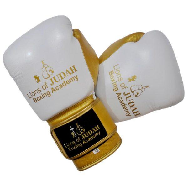 boxing gloves kids white