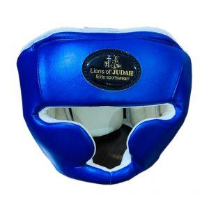 head guard adults boxing blue